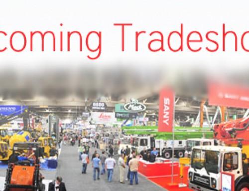 Upcoming Tradeshows- January/February 2014