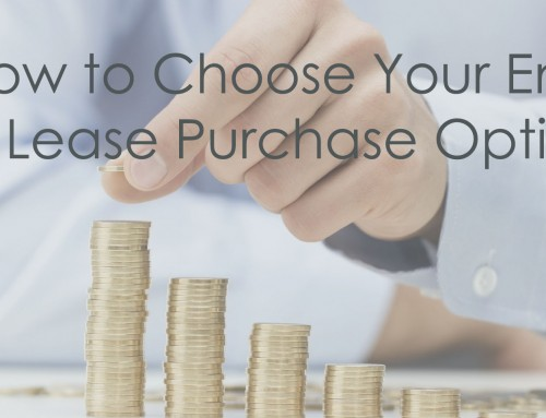 Choosing Your End of Lease Purchase Option